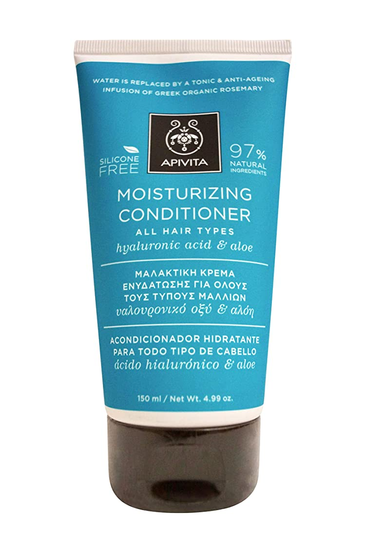 競争傷つける十億アピヴィータ Moisturizing Conditioner with Hyaluronic Acid & Aloe (For All Hair Types) 150ml [並行輸入品]