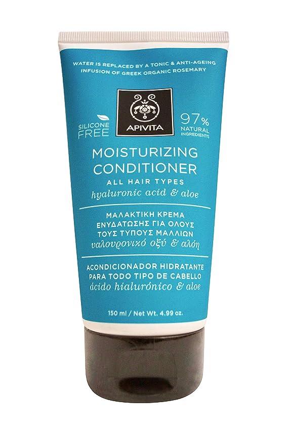 後方娘反抗アピヴィータ Moisturizing Conditioner with Hyaluronic Acid & Aloe (For All Hair Types) 150ml [並行輸入品]