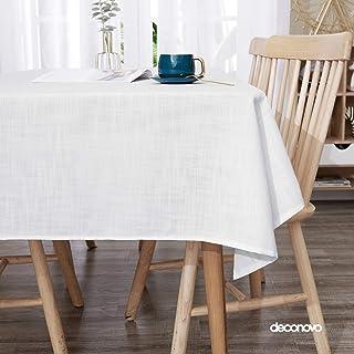 Deconovo Manteles Mesa Cocina Jacquard Mantel Impermeable