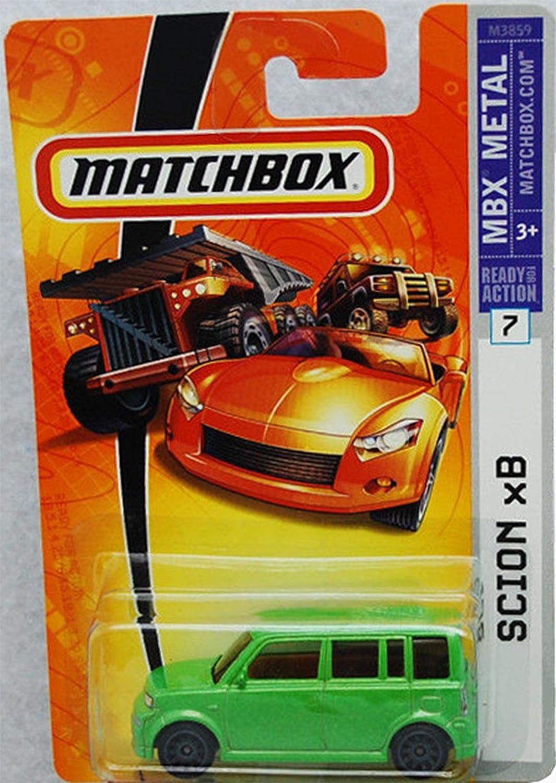 Matchbox Scion XB Green  Black Wheel  7 1 64 Scale Collector