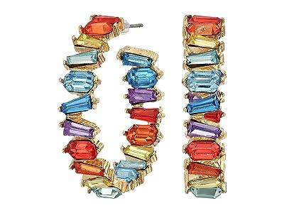8 Other Reasons Golden Girl Hoop Earrings (Burnt Multi) Earring