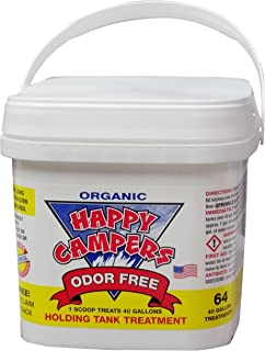 Happy Campers Organic RV Holding Tank Treatment – 64 Treatments