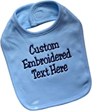 embroidered baby bibs personalised