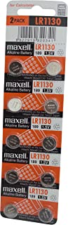 Maxell LR1130 Alkaline Battery 1.5V, 10 Pack