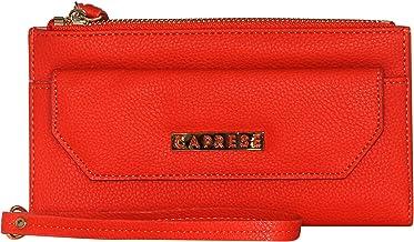 Caprese Mia Zip Wallet Large Orange