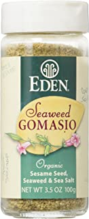 Eden Seaweed Gomasio, Sesame Seeds, Seaweed & Sea Salt, Organic, 3.5 Ounce