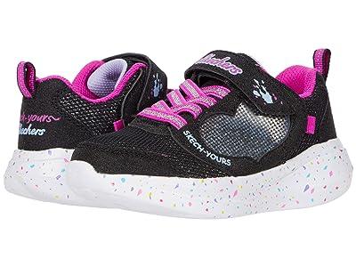 SKECHERS KIDS Sport Go Run Fast 302205L (Little Kid/Big Kid) (Black) Girl