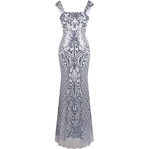 Mother Bride Silver Dress Amazoncouk