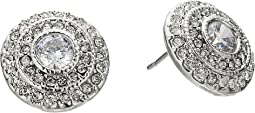 LAUREN Ralph Lauren Social Set Vintage Crystal Stud Earrings