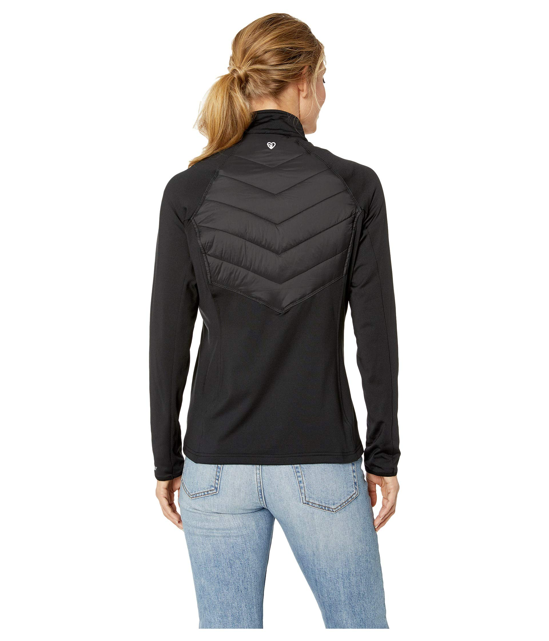Hybrid Jacket Straight Down Black Nova 6FEaqpvx