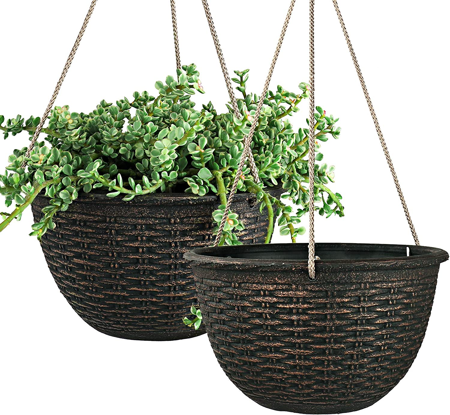 Hanging Planters for Outdoor Plants 9.8 Inch Garden Po Direct stock discount Planter High order