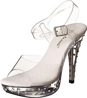 Pleaser Women's Cocktail-508SDT/C/M Platform Sandal