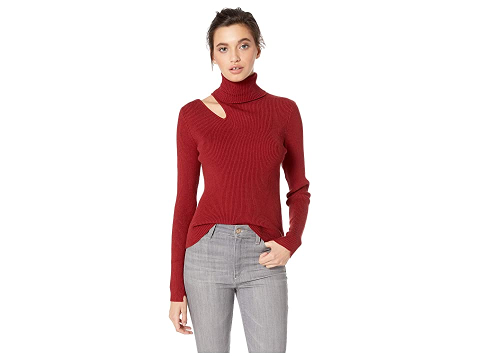 ASTR the Label Vivi Sweater (Scarlet Red) Women