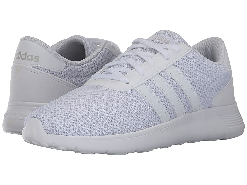 adidas Kids Lite Racer (Little Kid/Big Kid) (Footwear White/Footwear White/Footwear White) Kids Shoes
