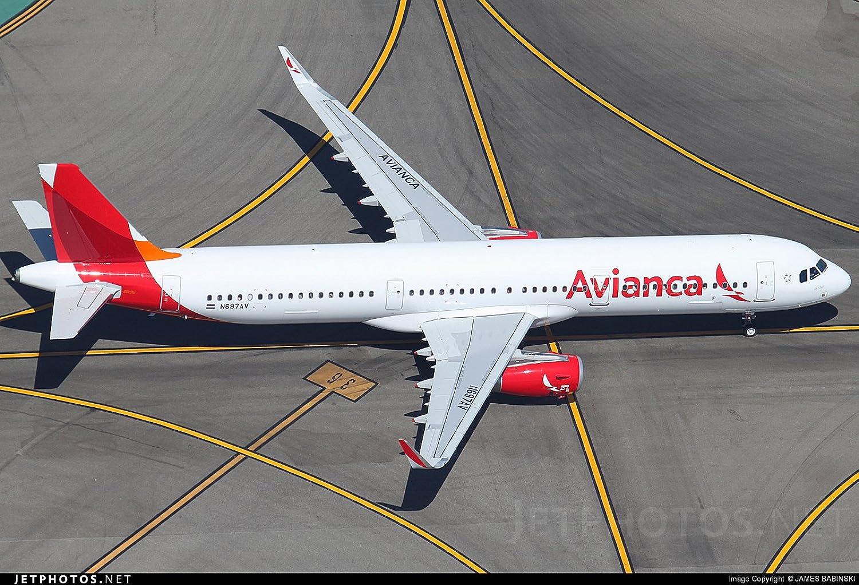 Avianca Airbus A321 neo 1 200 Scale Model DieCast Part G2AVA700