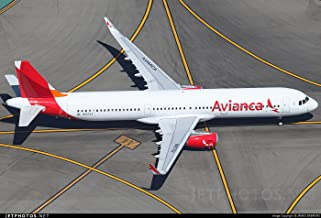 Avianca Airbus A321 neo 1:200 Scale Model Die-Cast Part#G2AVA700
