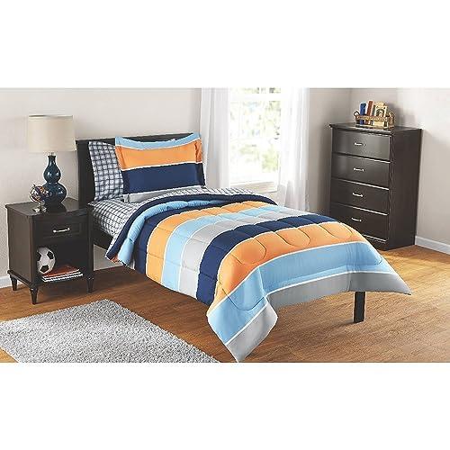 Blue And Orange Bedding Amazon Com
