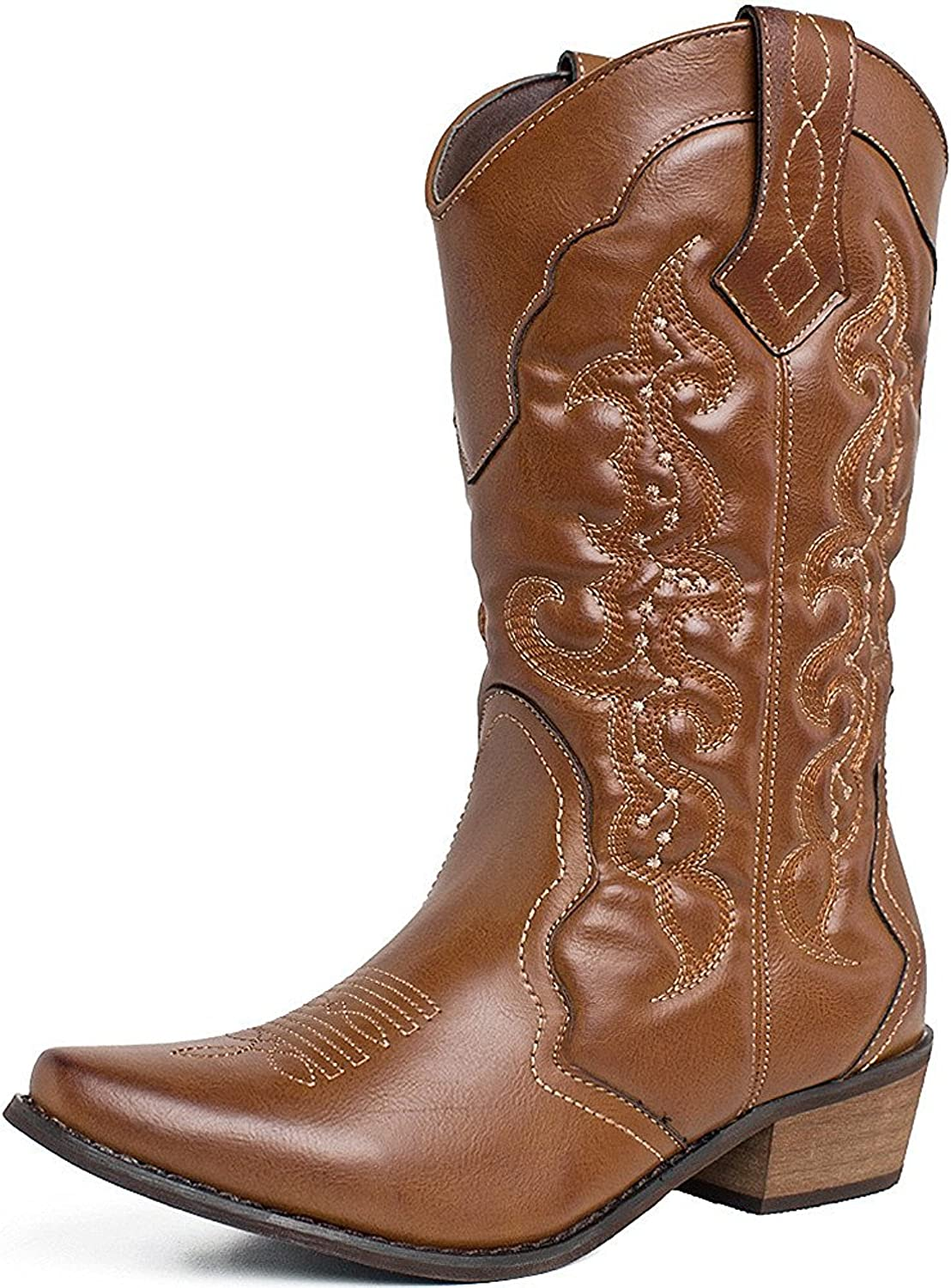 Free shipping SheSole Womens Winter Western Boots Cowgirl Max 71% OFF Cowboy