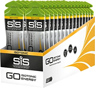 Science in Sport Go Isotonic Energy Gel, äpple, 60 ml, paket med 30