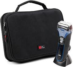 DURAGADGET Red EVA Case - Geschikt voor gebruik met Braun 5050cc | 9-549 9 | BT5090 | Silk-épil 9 9-521 | HC5090 | Pulsoni...
