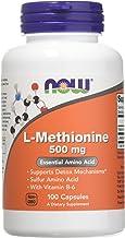 Now Foods L-Methionine 500 mg - 100 Caps 3 Pack