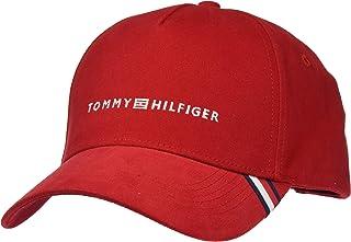 تومي هيلفغر قبعة شمس للرجال ، مقاس واحد ، احمر