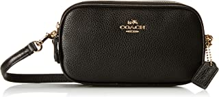 Pebbled Leather Convertible Crossbody Pouch Clutch Purse Handbag