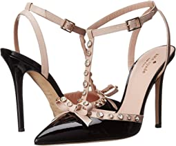 829e2db6aee Kate Spade New York. Milan.  90.99MSRP   298.00. Luxury. Black Patent Pale  Pink Nappa