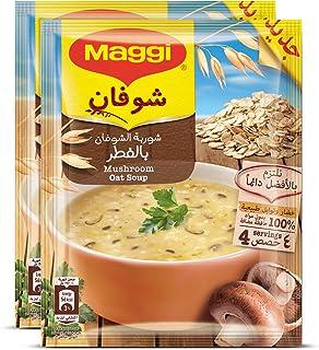 Maggi Oat with Mushroom Soup Sachet 65g (2 Sachets)