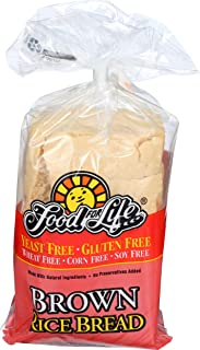 Food For Life, Brown Rice Bread, Dairy,Gluten & Yeast Free, 24oz