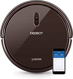 Ecovacs Deebot N79S - Robot Aspirador navegación aleatoria, App y Alexa, Wifi, 4 modos de limpieza, 2 niveles de succión, ...