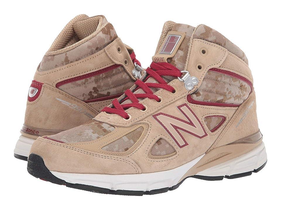 New Balance 990v4 Boot (Incense/NB Scarlet) Men