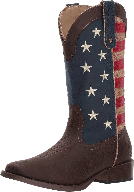 ROPER ROPER ROPER Woherrar American Patriot Western Boot  bästa mode