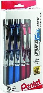 Pentel EnerGel RTX Retractable Liquid Gel Pen 0.7mm