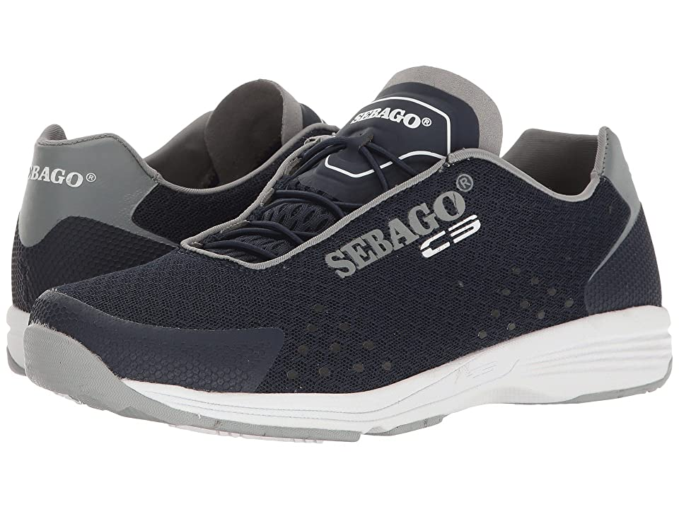 Sebago Cyphon Sea Sport (Navy/Grey Textile) Women
