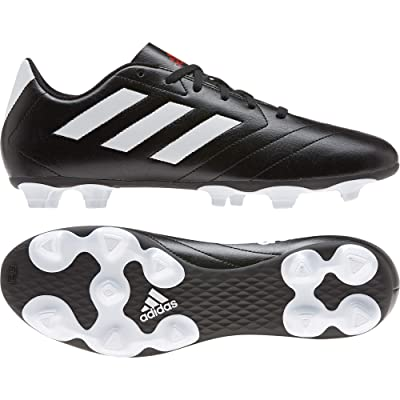 adidas Goletto VII FG (Core Black/Footwear White/Red) Men