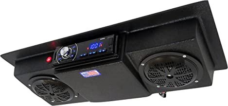 Custom Built Radios Golf Cart UTV Tractor RV Roof Mount Overhead Console Bluetooth Stereo
