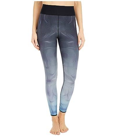 Ultracor Warp Beam Ultra High Leggings (Charcoal Print/Gunmetal) Women
