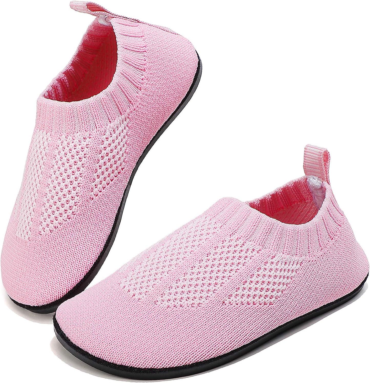 Toddler Slippers Socks House Shoe Walking Kids Non Slip Shoes