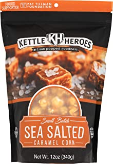 Kettle Heroes, Popcorn Sea Salted Caramel Corn, 12 Ounce