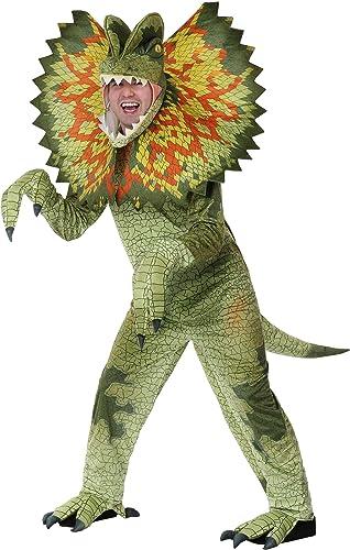 barato y de moda Adult Dilophosaurus Fancy Dress Costume X-Large X-Large X-Large  directo de fábrica