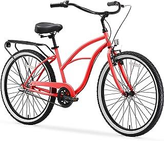 دراجة دراجات كهربائية دائرية حول الكتلة للنساء شاطئ كروزر