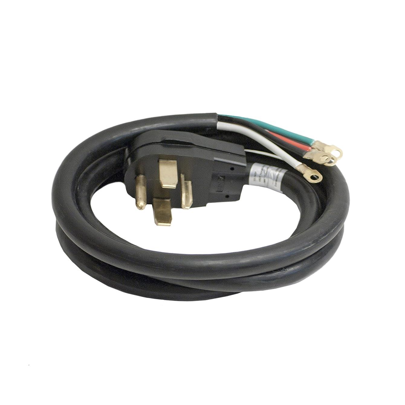 ALEKO WDC4W30A6 ETL 6' Heavy Duty 4-Wire Dryer Cord, 30A