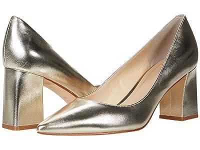 Marc Fisher LTD Zala 15 (Gold Leather) Women