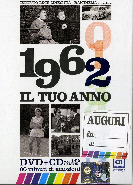 Amazon.com: Il Tuo Anno - 1962 (Dvd+Cd) [Italian Edition] [2013 ...