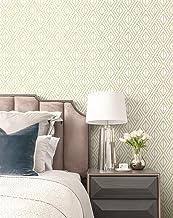 Transform Gold Diamond Geo Peel and Stick Wallpaper