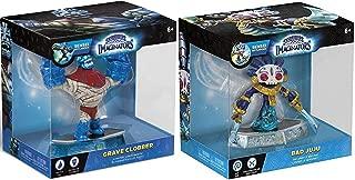 Bad Juju and Grave Clobber Sensei Skylanders Imaginators 2-Character Bundle Video Game Set
