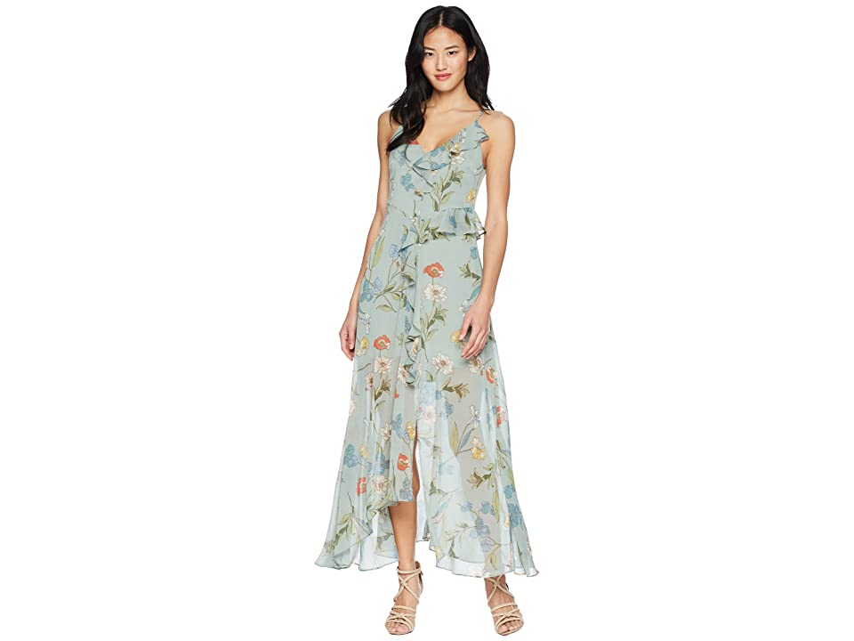 ASTR the Label Sienna Dress (Sage Multi Floral) Women