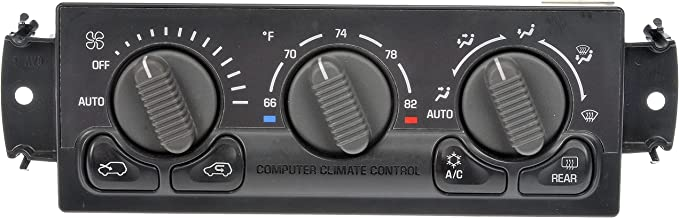Dorman 599-260 Remanufactured Climate Control Module for Select Chevrolet/GMC Models