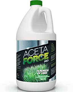 ACETA Force | Industrial Strength 30% Natural Acetic Acid Vinegar for Home & Garden (1 Gallon)
